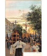 Paso de Semana Santa Sevilla Seville Spain 1905c postcard - $6.93