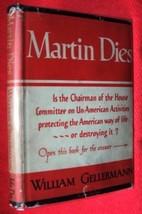 MARTIN DIES (1944) [Hardcover] [Jan 01, 1944] Gellermann, William