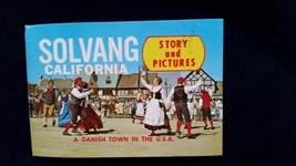 Solvang Story and Pictures Small Booklet (8) Images + Cover/Rear CA Cali... - $5.23
