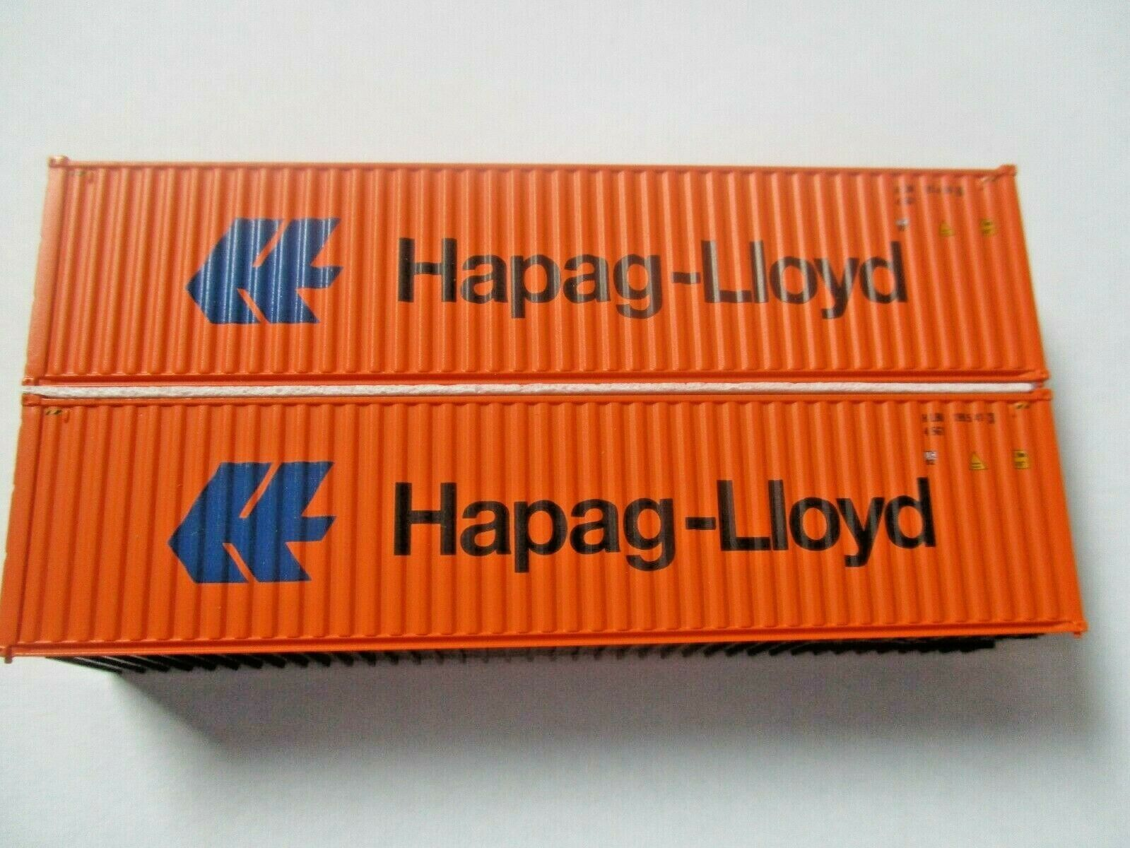 Jacksonville Terminal Company # 405164 Hapag Lloyd 40'  Container (N)