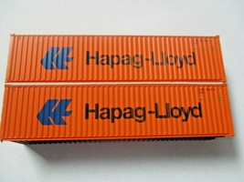 Jacksonville Terminal Company # 405164 Hapag Lloyd 40'  Container (N) image 1