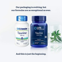 Life Extension Taurine 1000 Mg 90 Capsules - $40.39