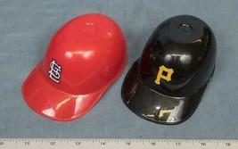 Vintage Pirates Cardinals MLB Laich Ice Cream Miniature Baseball Helmet 1990s dq - $9.89