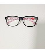Lulu Guinness Designer Reading Glasses Eyeglasses Brown Pink Stripe 2.5 ... - $29.66