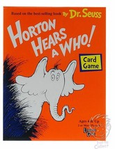 Horton Hears A Who - Card Game by Dr Seuss - University Games 1999 - COM... - $14.72