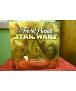 Trivial Pursuit Star Wars Classic Trilogy Collectors Edition - Played On... - $16.78