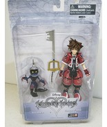 Kingdom Hearts Valor Form Sora Figure Disney Exclusive Red variant Soldi... - $27.87