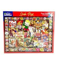 White Mountain Puzzle 1000 Pieces Soda Pop Lois Sutton Vintage Ads Bottl... - $34.39