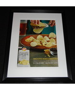 2014 Lay's Lattice Cut Chips 11x14 Framed ORIGINAL Vintage Advertisement - $32.36