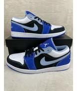 NEW Nike Air Jordan 1 Low SE Racer Blue White Mens DH0206-400 SIZE 12 - $158.37