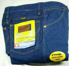 NEW WRANGLER DENIM Student 27x34 STRAIGHT LEG Regular Cut Blue JEANS 401SPWR - $9.74
