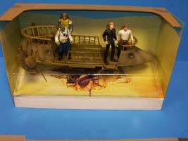 Star Wars POTF Tatooine Skiff Vehicle With Action Figures Lot - $99.95