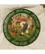 Coca-Cola Stepping Stone Or Wall Plaque - $21.46