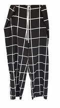 Natori Silk Lounge Pant, Windowpane, Large - $69.29