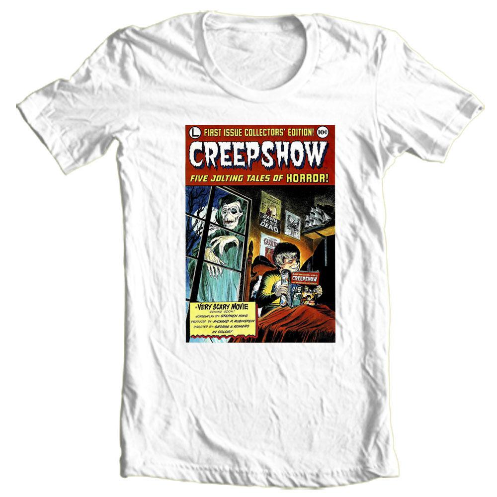 Creepshow tshirt comic book poster graphic tee retro horror film tshirt