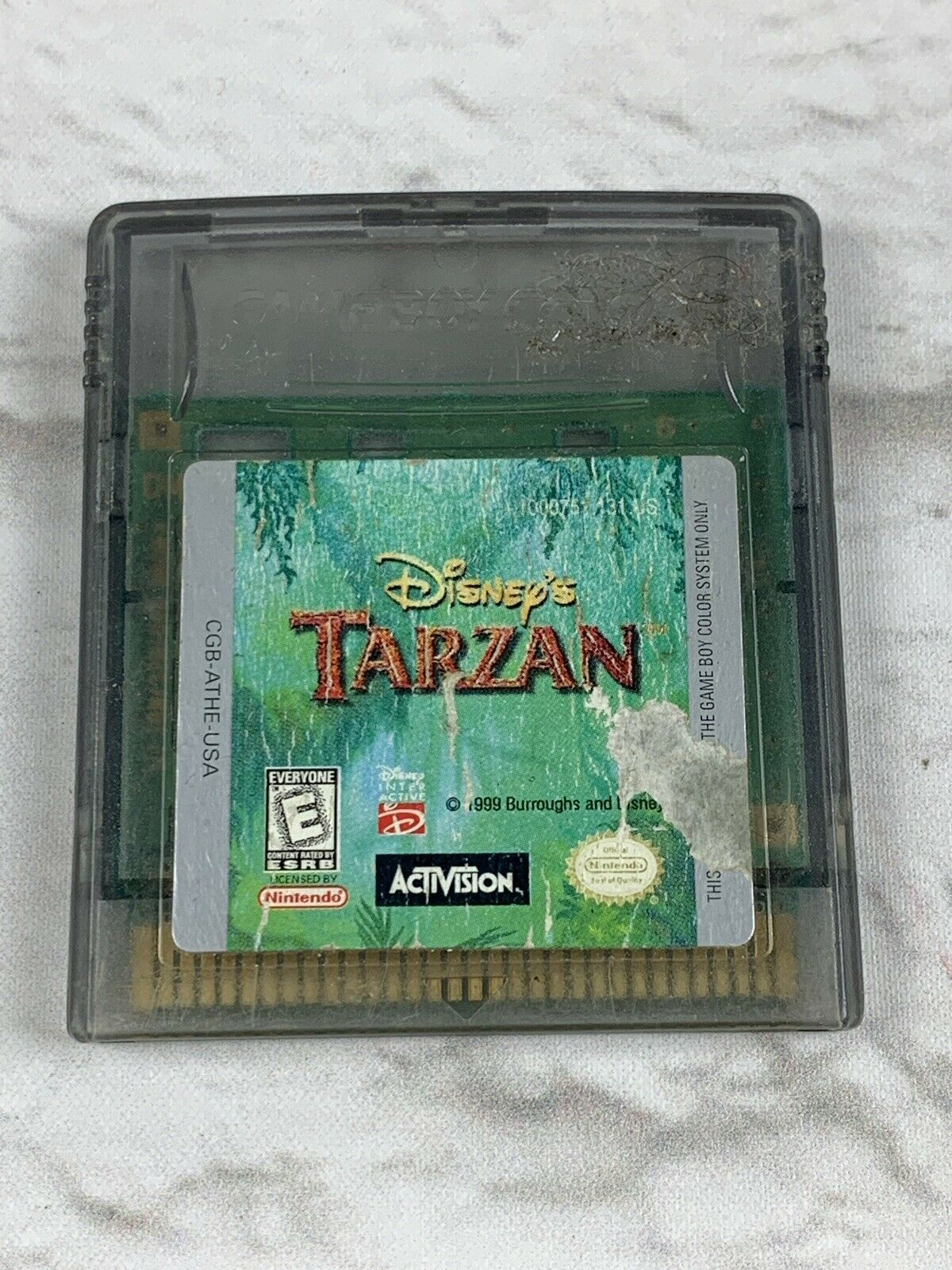 Disney's Tarzan (Nintendo Game Boy Color, 1999)