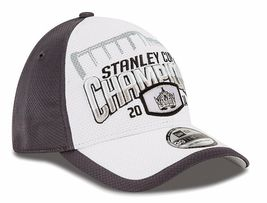 NHL Los Angeles Kings 2014 Stanley Cup Championship Locker Room Cap New Era Hat image 4
