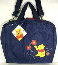 Winnie the Pooh Large Blue Nylon Travel Bag  image 1
