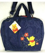 Winnie the Pooh Large Blue Nylon Travel Bag  - $57.22