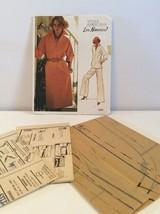 Vogue Sewing Pattern 1200 Vtg Leo Narducci 8 Dress Tunic Pants Loose Fit... - $13.32