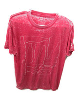 Coca-Cola Burn-out Red T-shirt Tee Multi Contour Bottles Large - BRAND NEW - $22.52