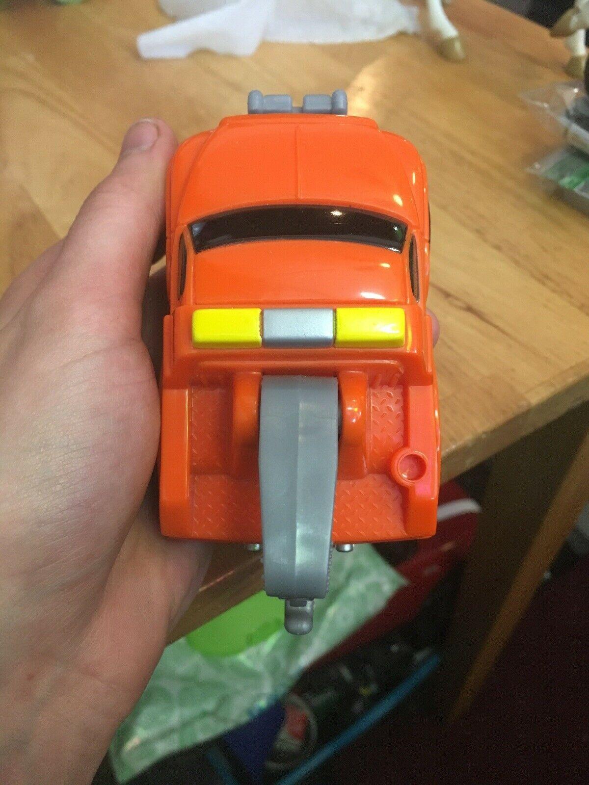 Fisher Price FP Toys 1995 Orange Tow Truck image 4