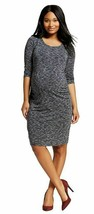 Women's Maternity Shirt Dress Black 3/4 Sleeve NWT Liz Lange S or M or XL - $17.09