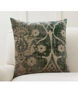Pottery Barn Printed VELVET AMELIA Pillow Cover NO INSERT 22x22 NWOT   #42 - $49.99