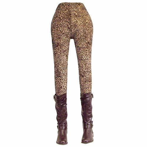 Primary image for [Mini-Leopard] Fashion Women's Legging New Novelty Footless Tights Skinny Pants