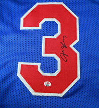 ALLEN IVERSON / NBA HALL OF FAME / AUTHOGRAPHED CUSTOM BASKETBALL JERSEY / COA image 3