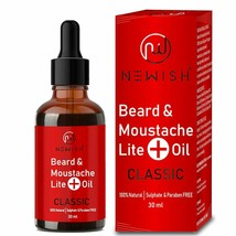 Lite Mooch & Beard Oil Men for Soft, Nourishing and daily use Original, ... - $18.31