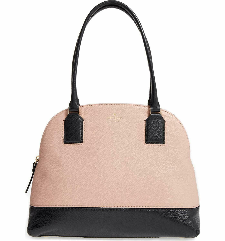 NWT KATE SPADE NEW YORK Young Lane Small Anika Shoulder Bag Black Pink PXRU7945 - $130.68