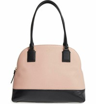 NWT KATE SPADE NEW YORK Young Lane Small Anika Shoulder Bag Black Pink P... - $130.68