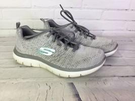 Skechers Womens Size 7.5 Sports Flex Appeal 2.0 High Energy Trainer Snea... - £22.74 GBP