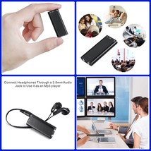 "Voice Activated Listening Device Audio Bug 8GB ""Bugging"" Digital Spy Rec... - $28.76"