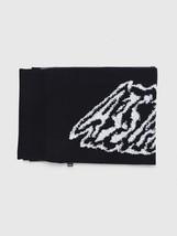 Diesel Unisex K-Voxy 00SPNQ Fine Knitting Scarf Black - $102.96