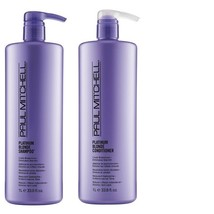 John Paul Mitchell Platinum Blonde Shampoo Conditioner Toning Spray Duo  - $15.72+