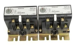 LOT OF 2 SIEMENS 48ASX3M20 OVERLOAD RELAYS SER. C, 200-540A, 3PH