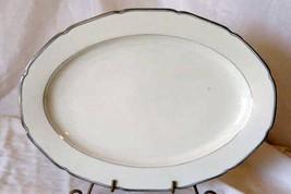 "Royal EPIAG 14"" Oval Platter Platinum Rings - $27.71"