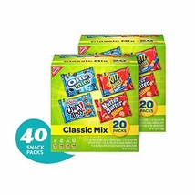 Nabisco Classic Cookie & Cracker Variety Packs - 40 Individual Snack Packs - $22.37