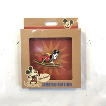 Mickey Mouse Vintage Timless Toy Series Rocking Oh Boy LE 1500 Boxed Dis... - $29.02
