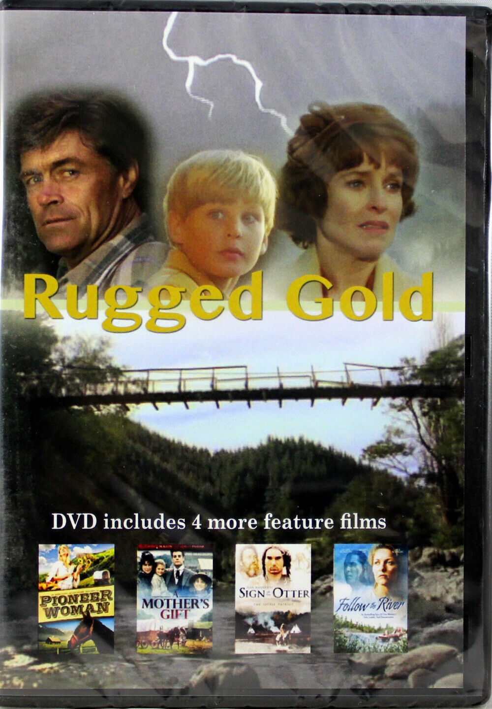 Primary image for Rugged Gold NEW DVD Also Follow River Pioneer Woman Mother's Gift Sign of Otter