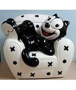 Felix the Cat Cookie Jar - Vintage 1997 - Sitting on Sofa - $57.95