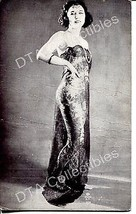 Pin-Up w/ see-thru dress-1920-Exhibit/Arcade Card G - $21.73