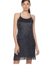 Hope & Harlow WOMENS  Sleeveless Halter  NAVY BLUE Dress,MSRP$128.00 - $20.30+