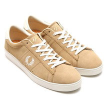 Fred Perry Men's Spencer Suede Leather Trainers Shoes B7522-363 - Warm S... - $76.69