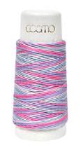 Cosmo Hidamari Sashiko Variegated Thread 30 Meters Cotton Candy - $5.95