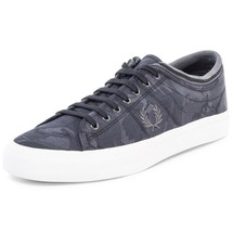 Fred Perry Men's Kendrick Tipped Cuff Camo Jacquard Trainers Shoes B8249... - $51.52