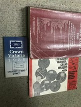1989 ford crown victoria workshop service manual set with evtm & owners ... - $98.95
