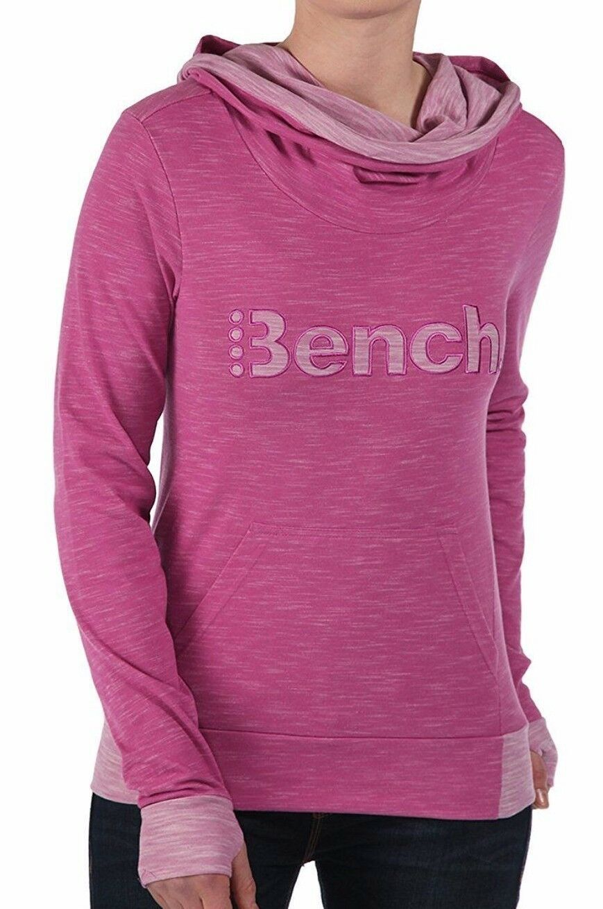 Bench Damen Tyree Pink Training Yoga Leicht Kapuze Nwt
